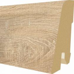 Plinta MDF Egger 60x17 mm culoare Stejar Bardolino