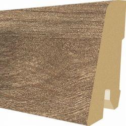 Plinta MDF Egger 60x17 mm culoare Stejar Northland maro