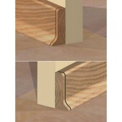 Set 4 buc piese de inchidere plinta (2 buc. dreapta + 2 buc. stanga) pentru plinta PVC culoare stejar inchis
