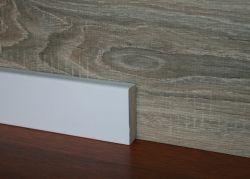 Plinta MDF Egger 58x16 mm culoare alb profil cubic