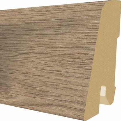 Plinta MDF Egger 60x17 mm culoare Stejar Ammersee gri