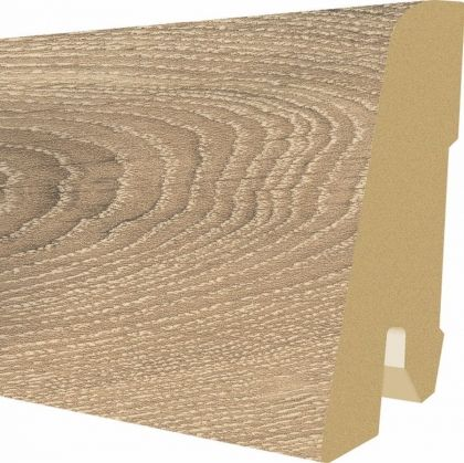 Plinta MDF Egger 60x17 mm culoare Stejar Parchet inchis