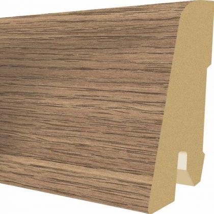 Plinta MDF Egger 60x17 mm culoare Stejar Valley mocca