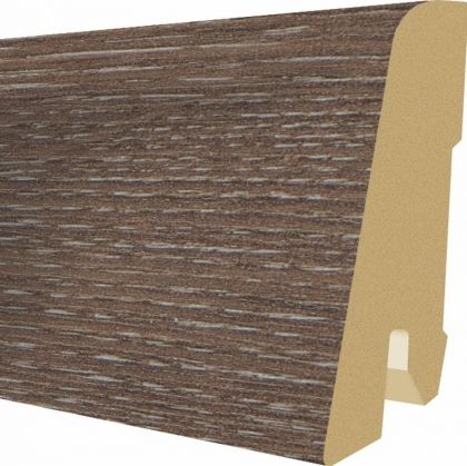 Plinta MDF Egger 60x17 mm culoare Stejar Amiens inchis