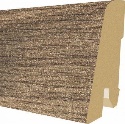 Plinta MDF Egger 60x17 mm culoare Stejar inchis Belfort