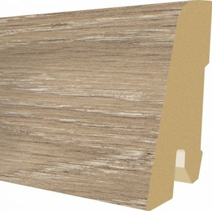 Plinta MDF Egger 60x17 mm culoare Stejar Trilogy capucino