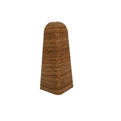 Set 2 buc. colt exterior pentru plinta MDF culoare stejar miere