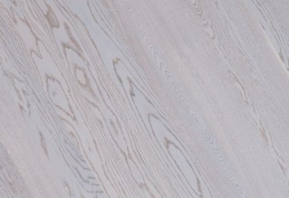 Parchet triplustratificat cu o lamela Stejar Elara Alb Mat Premium lacuit - 3,0 MP