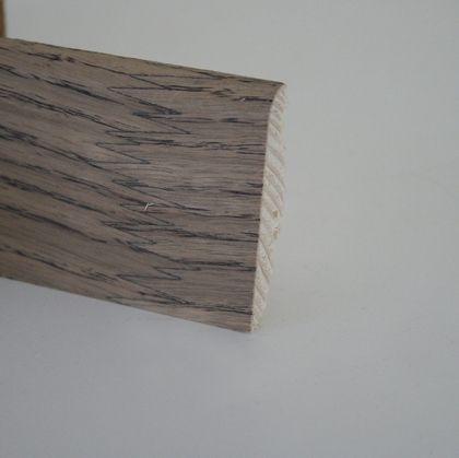 Plinta din lemn 19x58x2500 mm Karelia Ash Saturn / Oak Uranium