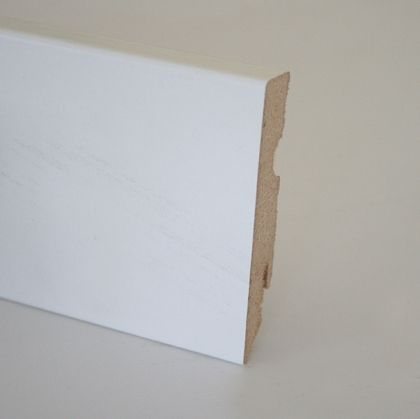 Plinta MDF 15x80x2400 mm Karelia white painted