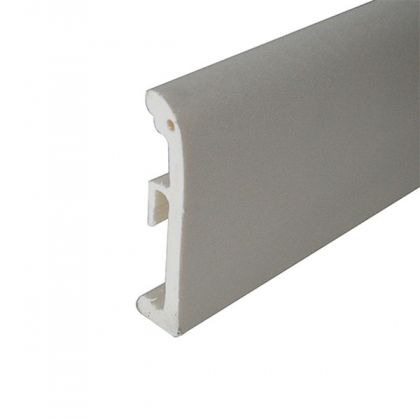 Plinta alba din polimer 80 mm