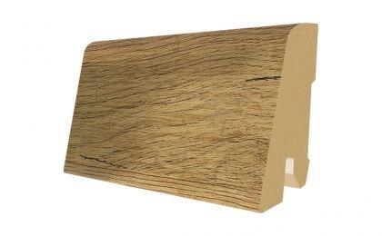 Plinta MDF Egger 60x17 mm culoare Stejar Brut natur