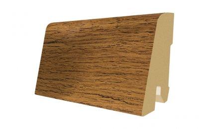 Plinta MDF Egger 60x17 mm culoare Stejar Maro cu crapaturi