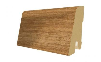 Plinta MDF Egger 60x17 mm culoare Stejar Natur cu crapaturi