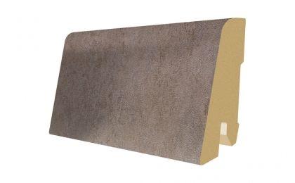 Plinta MDF Egger 60x17 mm culoare Beton Gri inchis
