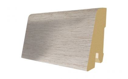 Plinta MDF Egger 60x17 mm culoare Stejar Rustic alb