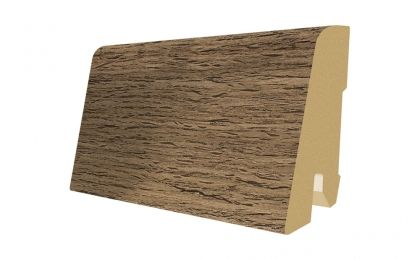 Plinta MDF Egger 60x17 mm culoare Stejar Afumat cu crapaturi