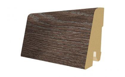 Plinta MDF Egger 60x17 mm culoare Stejar Periat gri