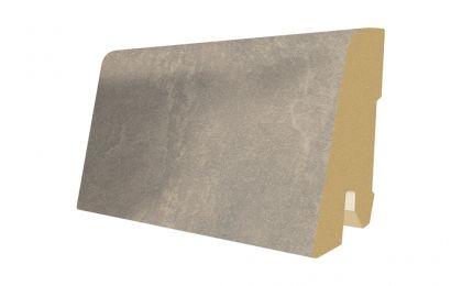 Plinta MDF Egger 60x17 mm culoare Beton Gri deschis