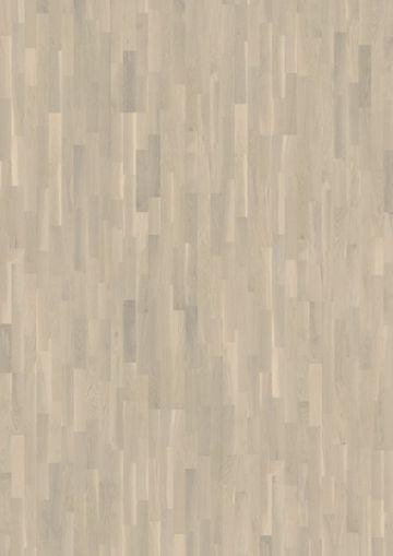 Parchet triplustratificat cu 3 lamele Karelia Stejar Creamy White lacuit - 2,91 MP