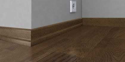 Plinta din lemn 22x60x2400 mm Karelia Oak Bean