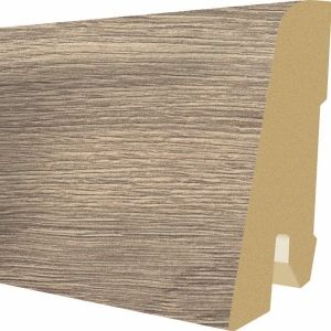 Plinta MDF Egger 60x17 mm culoare Stejar Knoxville gri