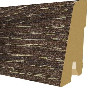 Plinta MDF Egger 60x17 mm culoare Stejar Garrison tabac
