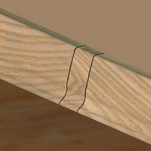 Set 4 buc piese de legatura pentru plinta PVC culoare fag inchis