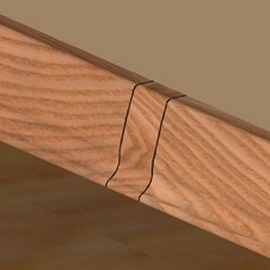 Set 4 buc piese de legatura pentru plinta PVC culoare stejar inchis