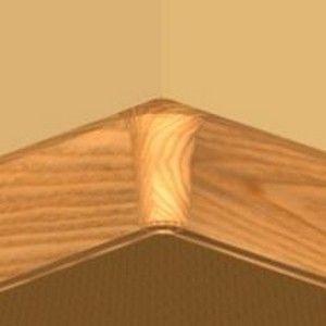 Set 4 buc piese de colt interior plinta PBC605.164