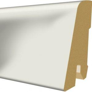 Plinta MDF Egger 60x17 mm culoare alb