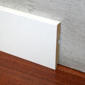 Plinta MDF Egger 95x15 mm culoare alb