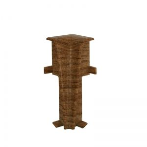 Set 2 buc. colt interior pentru plinta MDF culoare stejar miere