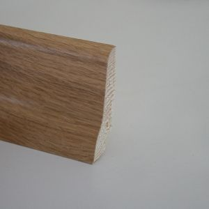 Plinta din lemn 22x60x2400 mm Karelia Oak Matt Laquer