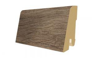 Plinta MDF Egger 60x17 mm culoare Stejar Periat manual