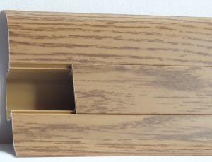 Plinta Lineco din PVC culoare stejar miere pentru parchet - 60 mm