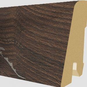 Plinta MDF Egger 60x17 mm culoare Stejar Alba Inchis