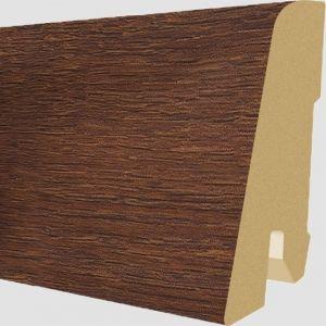 Plinta MDF Egger 60x17 mm culoare Stejar Bennett Inchis