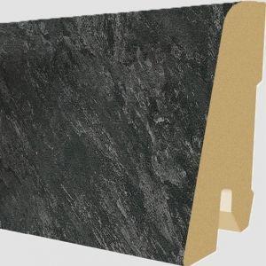 Plinta MDF Egger 60x17 mm culoare Piatra Adolari Negru
