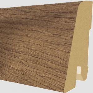 Plinta MDF Egger 60x17 mm culoare Stejar Madura