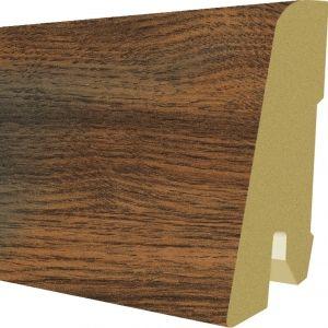 Plinta MDF Egger 60x17 mm culoare Stejar Lasken