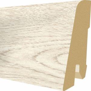 Plinta MDF Egger 60x17 mm culoare Stejar Cortina alb