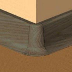 Set 4 buc piese de colt exterior pentru plinta PVC culoare wenge