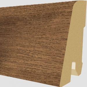 Plinta MDF Egger 60x17 mm culoare Stejar Maro Nisipos