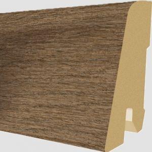 Plinta MDF Egger 60x17 mm culoare Stejar Herriard Inchis