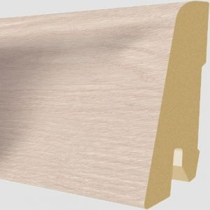 Plinta MDF Egger 60x17 mm culoare Stejar Edington Deschis