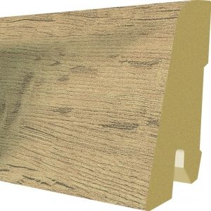 Plinta MDF Egger 60x17 mm culoare Stejar Rillington Inchis