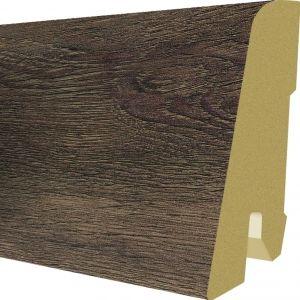 Plinta MDF Egger 60x17 mm culoare Stejar Corton Negru