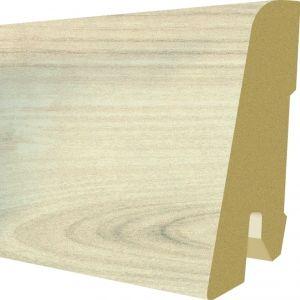 Plinta MDF Egger 60x17 mm culoare Stejar Elton Alb