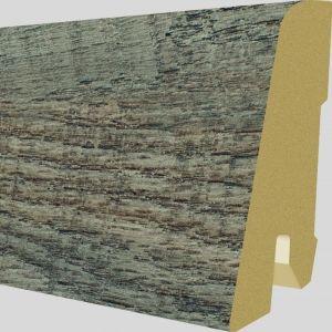Plinta MDF Egger 60x17 mm culoare Stejar Ripon Inchis